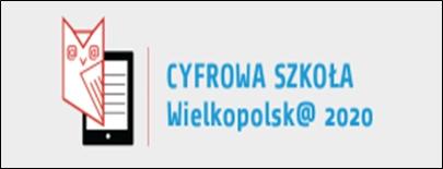 Znalezione obrazy dla zapytania Cyfrowa Szkoła Wielkopolsk@ 2020